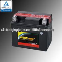 Maintenance Free Motorcycle Battery YT4L-BS
