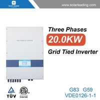 Best price 20kw cheap solar power inverter with 12v 100w solar panel for solar panel system