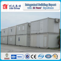 flat pack prefabricated two-storey luxury living container house for sale