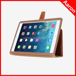 flip leather case for ipad 6 genuine leather case