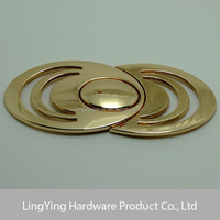 Fashion High Quality Manufacturer Double Circle Pin Belt Buckle