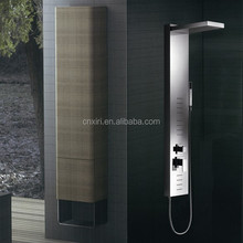(A3015) 304 stainless steel bathroom faucet shower panel shower set