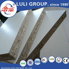 white melamine particle board sizes from shandong LULI GROUP China manufacturers
