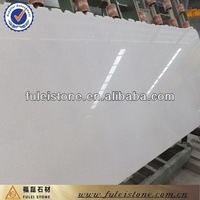 Imported artificial pure white marble