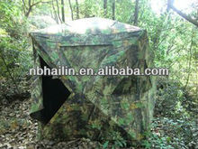 Factory sale ground blinds camo hunting tent