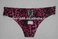 2014 Leopard Print Sexy Fancy Women Wearing G Strings