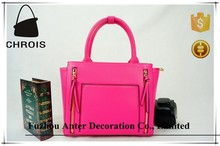 New synthetic leather cosmetic pu bag 100% factory directly