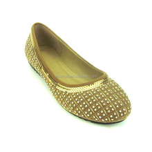 made in china cloth with drill pumps most popular nice closed casual women pumps hoes
