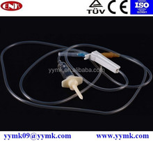 hospital supplies disposable IV infusion set with needle manufacturing plant