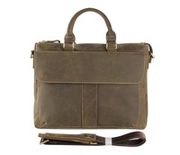7113R Classical Mens Cow Leather Briefcase Fit To Office Man Online Wholesale
