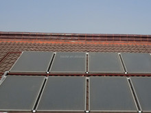 flat plate solar collector for solar hot water system commercial and industrial projects