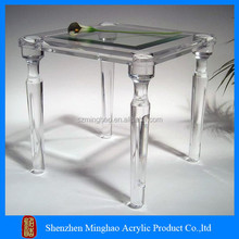 High quality clear acrylic furniture lucite console table