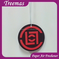 Manufacture directly produce any logo hanging car air freshener