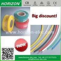 Red Green Blue Yellow Black White Transparent Non-halogen Flame-retardant Environment-friendly heat shrinkable tube