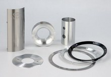 Fascinating aluminum acoustic audio assembly trim parts and speaker accessory