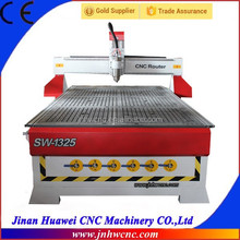 3d cnc router for wood cutting with heavy T type table