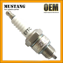 QJ100 Engine Spark Plug, E7RTC Spark Plug for QianJiang 100 ,0.7mm Gap Spark Plug