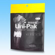 aluminium coated plastic bag for garment with zipper