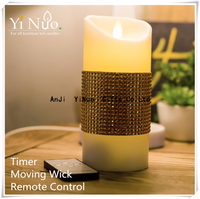 China manufacturers Flameless LED Luminara Candles with Best Price