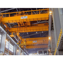 50 Tons Double Girder Overhead Foundry Charging Crane