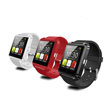 cheap free sample u8 bluetooth wifi android touch screen phone watch u8 smart watch phone with gift box