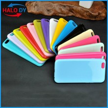 2015 silicon thick phone case for iphone 6 silicone case mix colors wholesale, soft silicone made mobile phone case