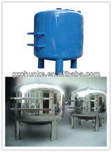 Mechanical water filter stainless steel carbon steel material filter housing for filtration system water purification
