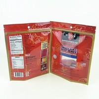 food grade custom beef jerky packaging bag