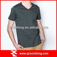 Mens Promotional Plain 100% Cotton Blank T-shirt Round Neck T-shirt