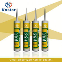 clear siliconized make waterproof high quality,acrylic sealant