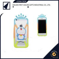 Decoration smart Soft 3D animal shaped silicone i-glow mobile phone cases with good quality
