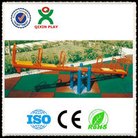 Best galvanized steel wholesale fitness equipment/ exercise machines/kids seesaw for 4 childrenQX-095D