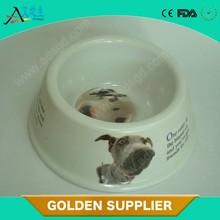 New creative durable non-toxic supplying fancy dog bowl