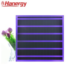 Hanergy PV Solar skylight hotel high safety thin-film solar module colord translucent panel