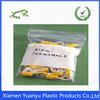Top grade clear zip lock plastic bag for accessories packaging