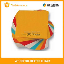 Onzing good quality delicate memo cube for writing in china