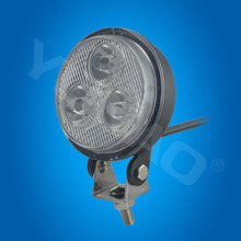 3.2inch 9w led work light waterproof ip67 led work light 4wd