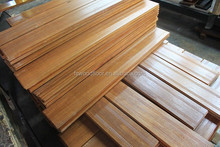 golden yellow durable tropical brazilian teak wood flooring