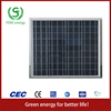 High quality 60w TUV/CE/IEC/MCS Approved Poly-Crystalline Solar Panel,Home Solar System Use,Solar Power System Use