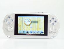Top-quality 64 bit portable multimedia mp4 game player PAP-gameta II