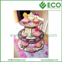 Promotional Cardboard Cupcake Holder, Wholesale Cardboard Cupcake Stand