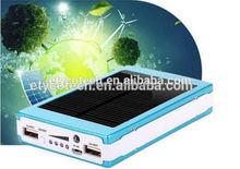 Factory Hot Sales Promotion cheapest price 11000mah universal portable slim solar power bank