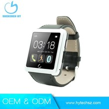 Famous watch brands U watch fashion leather mobile cell phone watch U10L