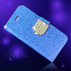 Hot selling shiny powder luxury glitter rhinestone bling cell phone case cover for iphone 6