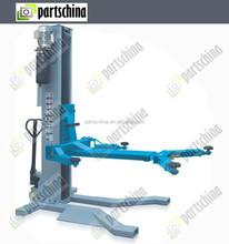 car repair single post ortable lift