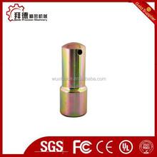 zinc anodeds for metal parts/nature anodiede aluminum machining/zinc anodes steel parts