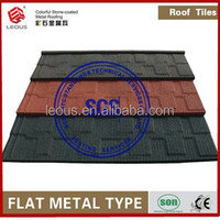 Colorful Sand Coated Metal Roof Tile |Stone Coated Steel Roofing| Aluminum Roofing