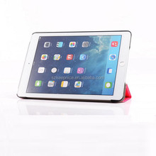 Factory directly sale tablet case front cover + back cover 2 in 1 ultra thin leather case for iPad Air