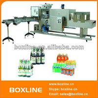 Full automatic mineral water bottles shrink wrap machine