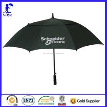 Advertisement 30 Inch*8k 2 Laver Windproof Golf Umbrella